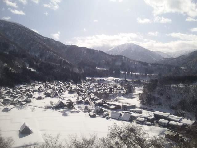白川郷へGO